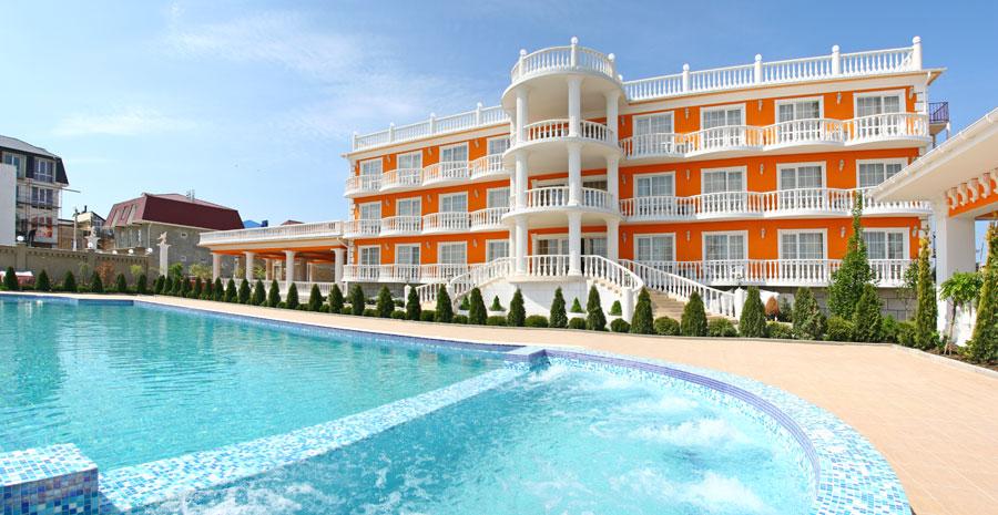 Отель в Николаевке Апельсин