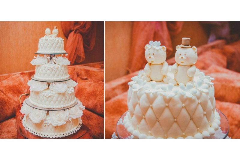 Свадебный торт – свадьба в отеле Апельсин