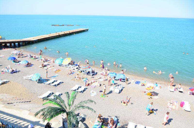 Отдых на берегу моря в Николаевке