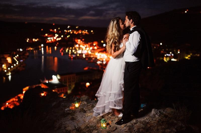 Свадьба в Крыму на берегу моря в Апельсине