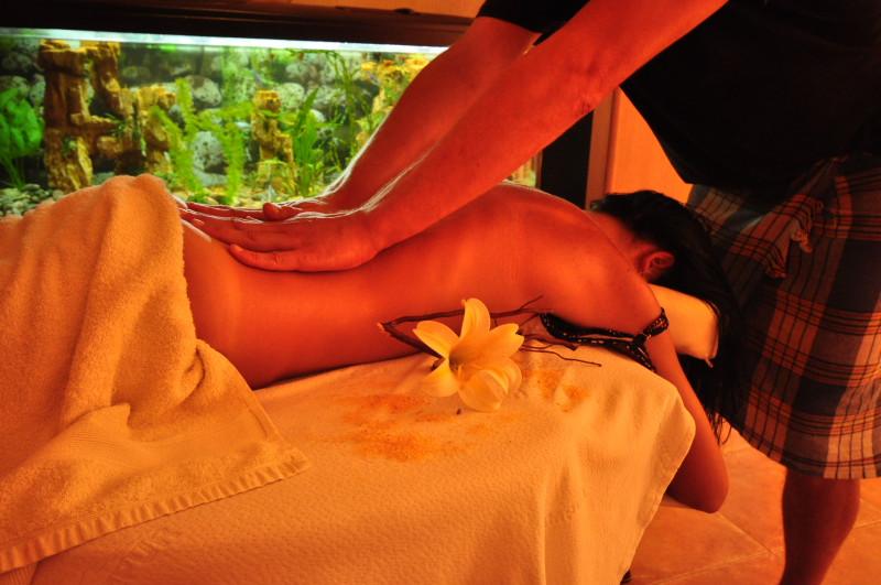 Классический массаж в отеле Николаевки Апельсин