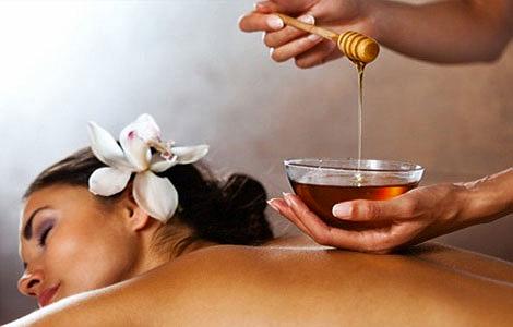 Медовый массаж в спа отеле Крыма Апельсин